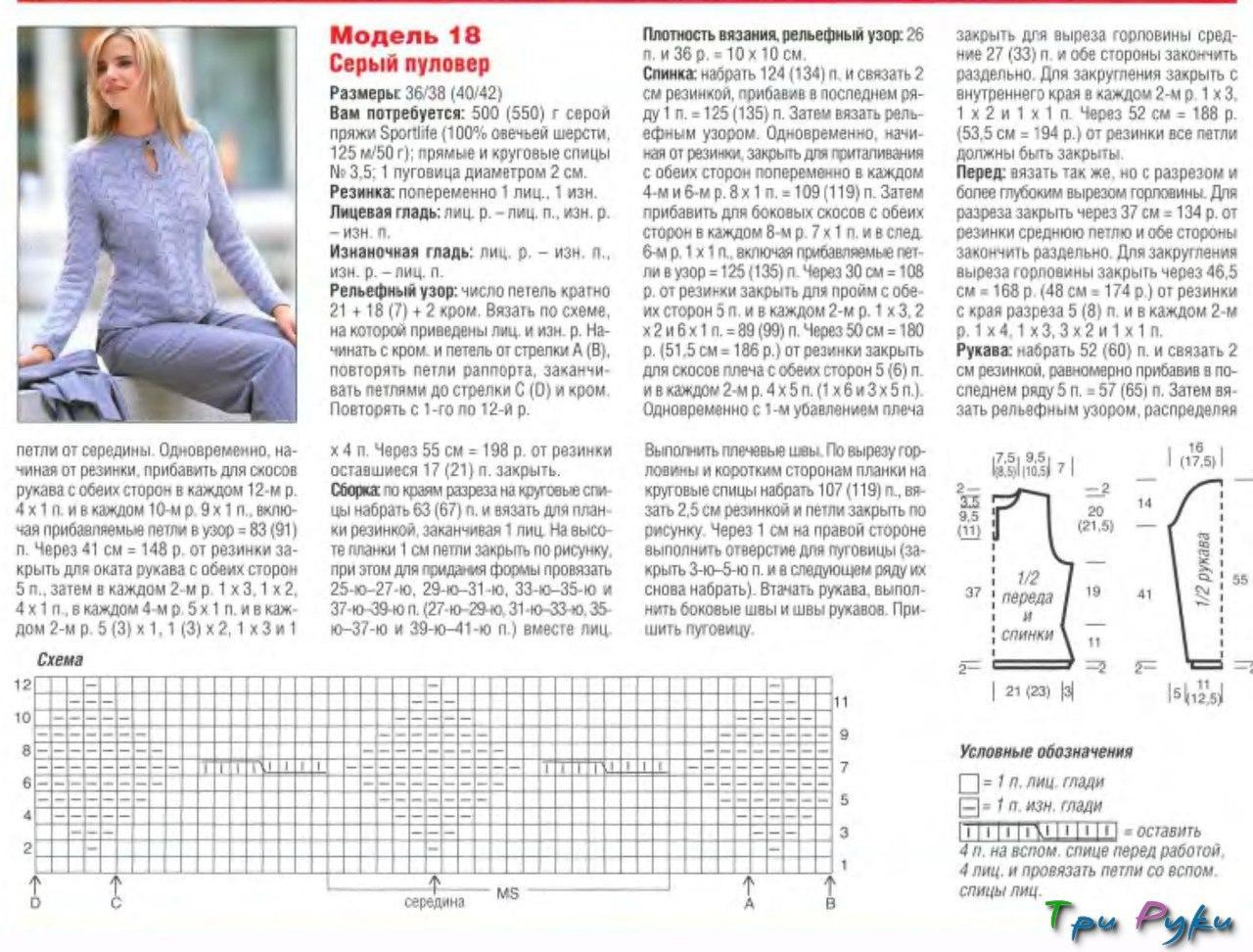 Вязаные женские кофты спицами со схемами описанием фото 2018 35