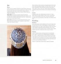 Описание вязаной шапки