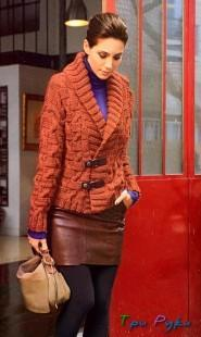 knitted jacket spokes
