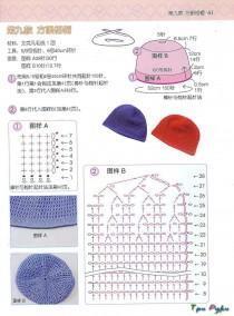 Летняя шапка сеткой