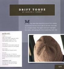 Иностранная вязаная шапка