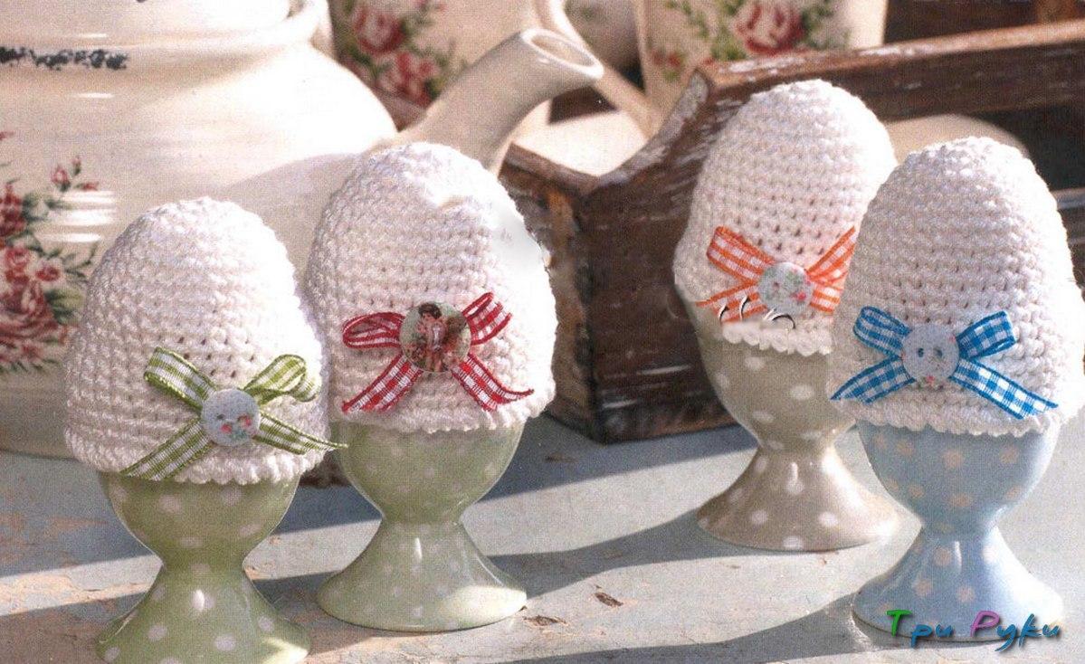 грелки с бантиками для яиц