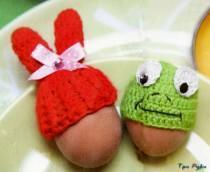 Украшения на яйца