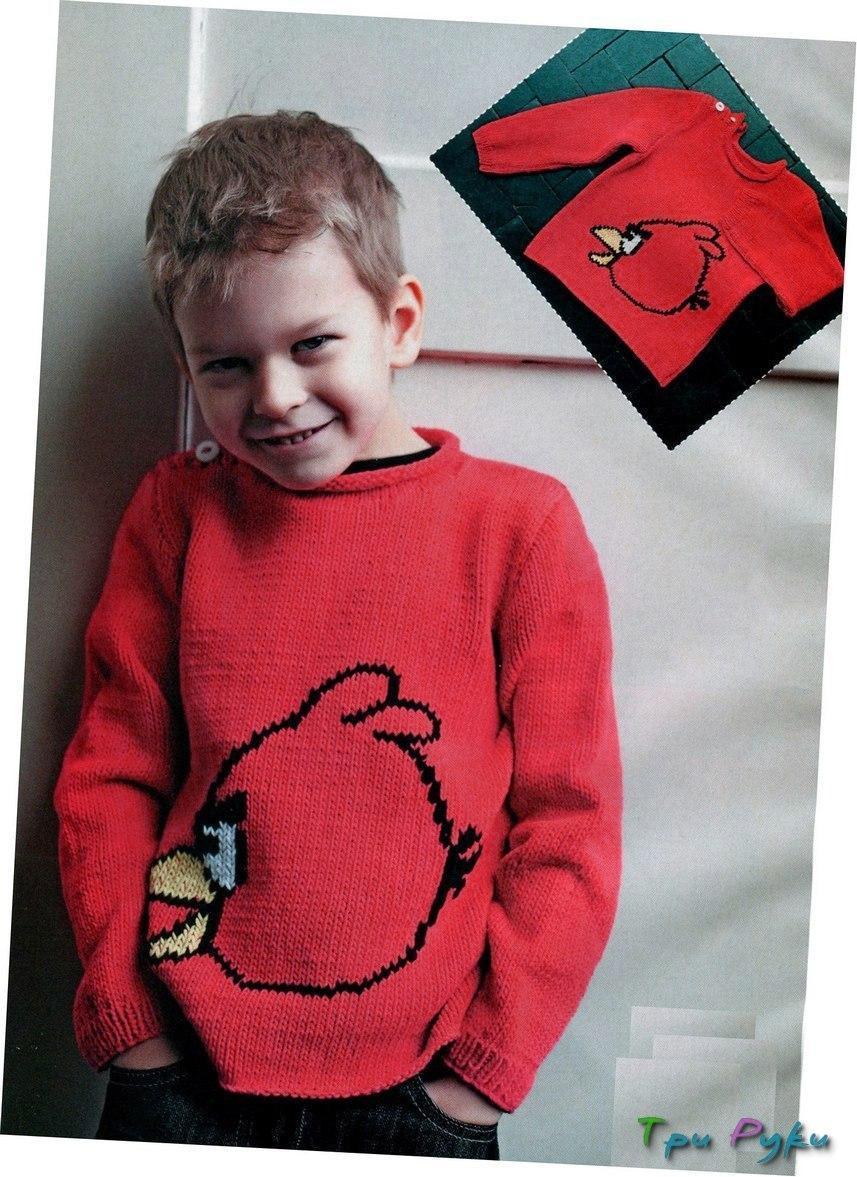 Пуловер Angry Bird