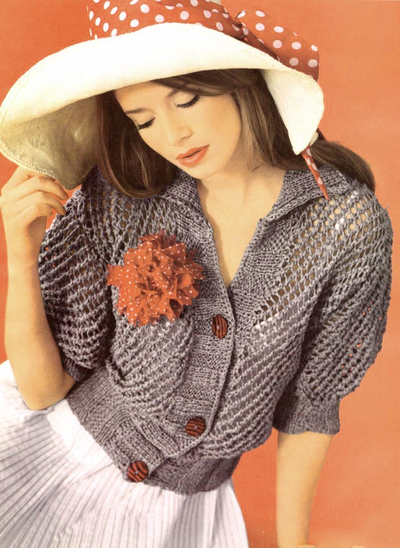 Вязание кофт для девушек новые модели
