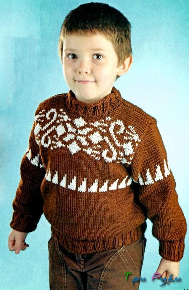 Пуловер мальчику 5 лет