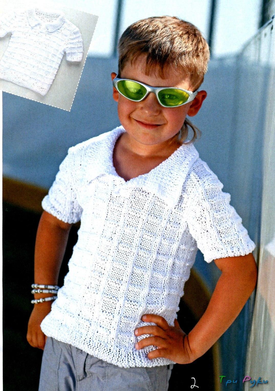 Вязание мальчику на лето