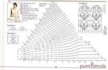 схема вязаного сарафана