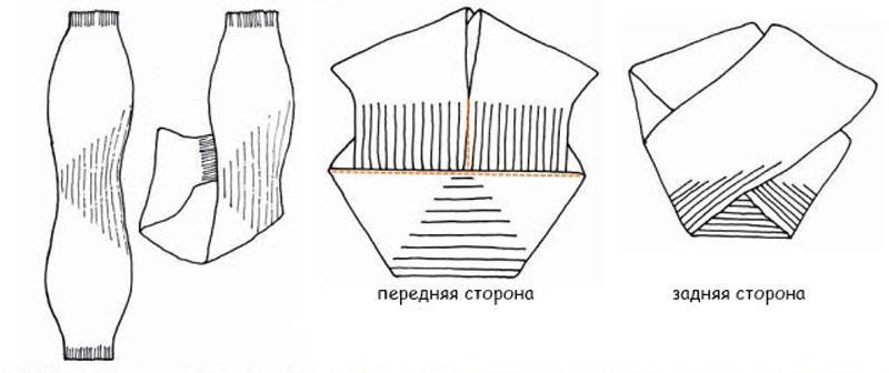 Как носить шапку - конверт