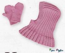 вязание малышам шапочка