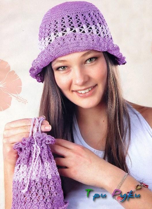 Шляпа и сумочка на лето