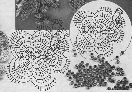 Чудесный топ из цветочных мотивов