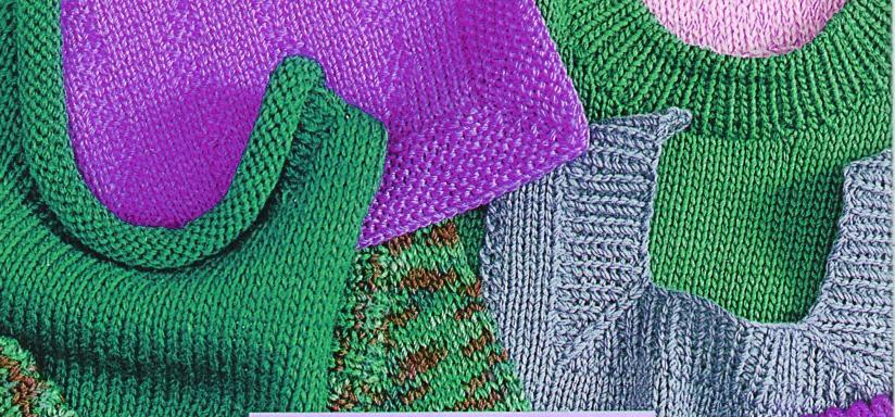 Вязание бейки горловины
