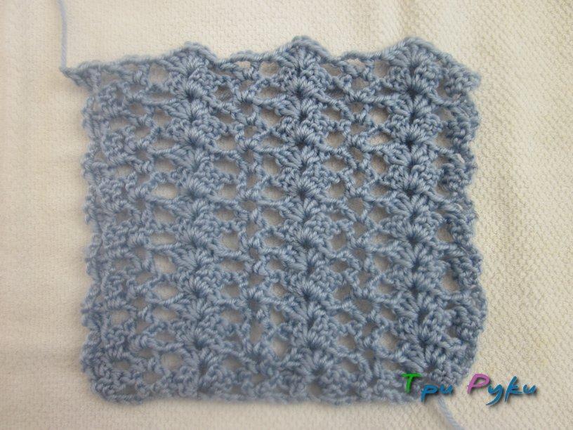 Заготовка для  вязаного чехла