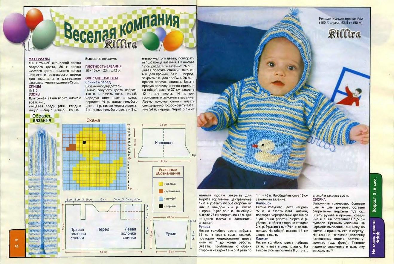 Кофточка новорожденного