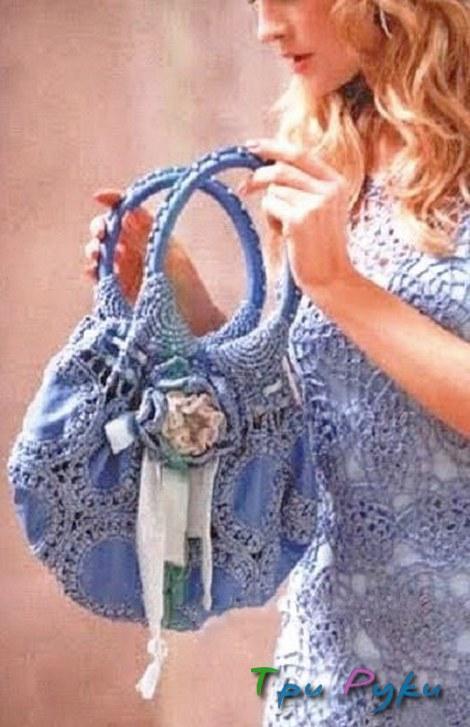 сумка вязаная крючком