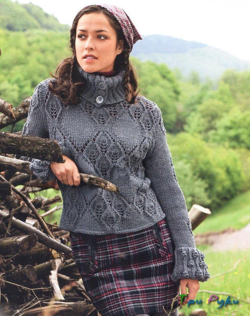 Вязанные свитера для гольфа