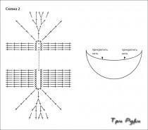 Кепка схема вязания
