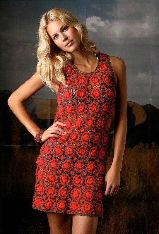 Красное Платье Из Мотивов 77