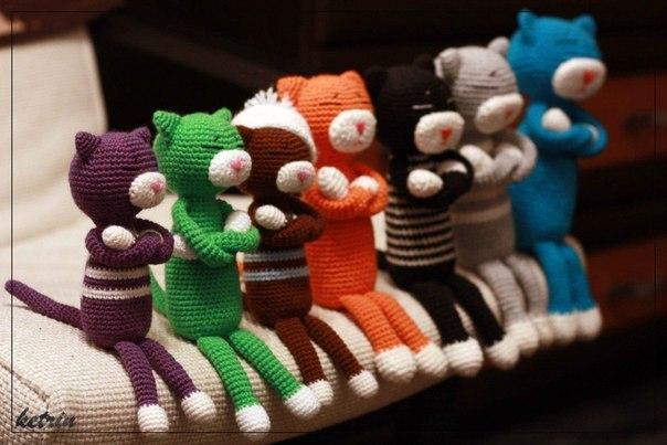 вязаная игрушека в Японии