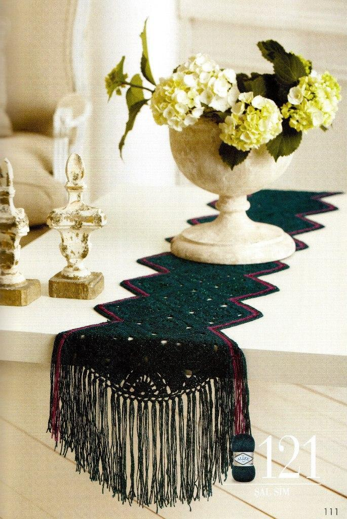 Декоративная дорожка на стол