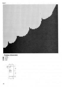 Схема вязаной волны
