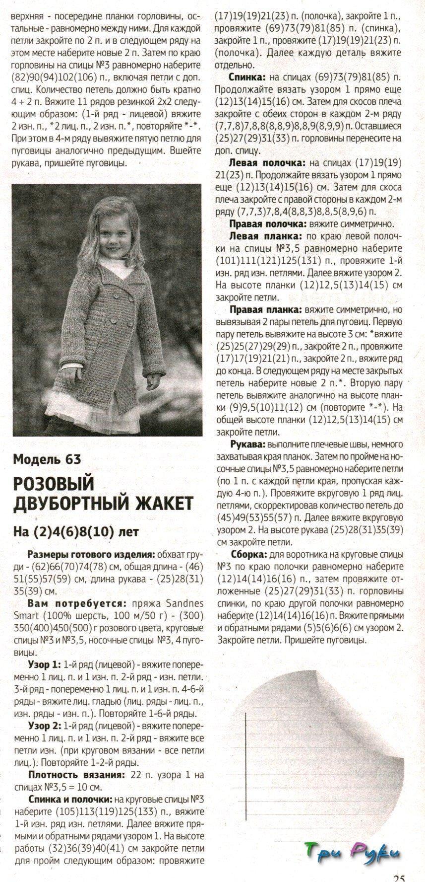 Вязание спицами для девочек 10 лет пальто с описанием 80