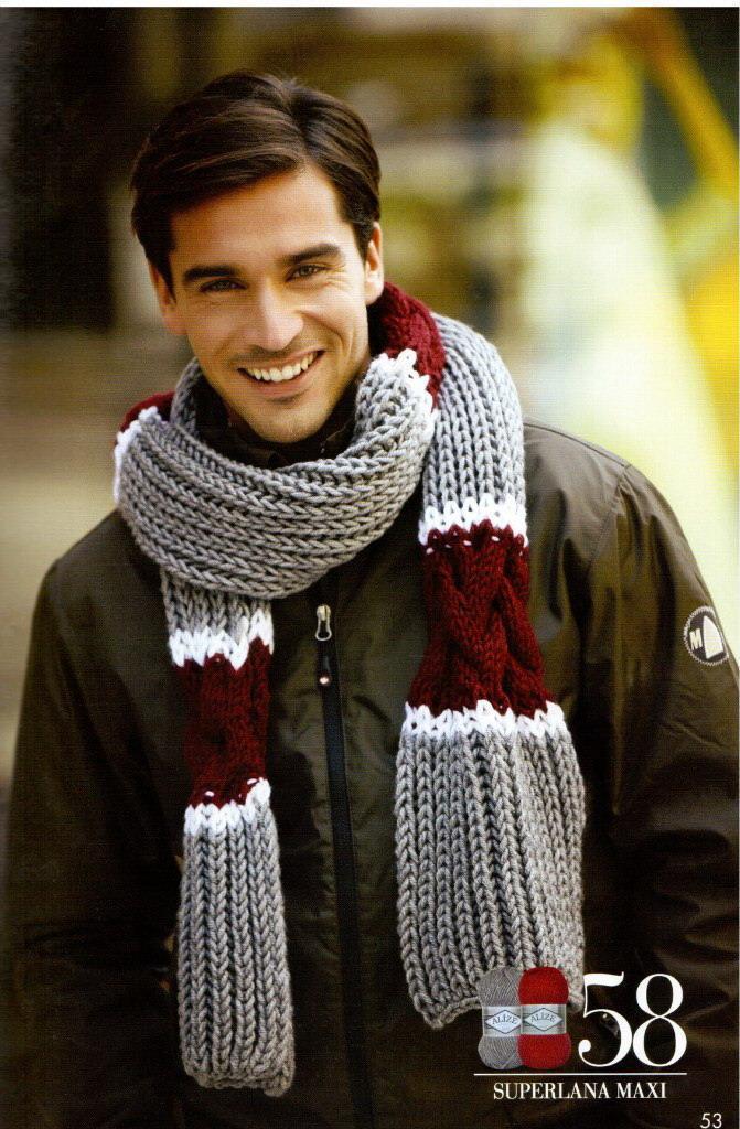 Красивый шарф для мужсины