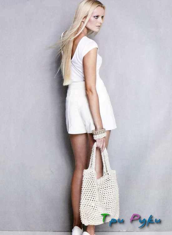 Крючком вязание сумки