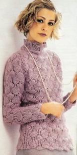 Летний свитер - милый и элегантный