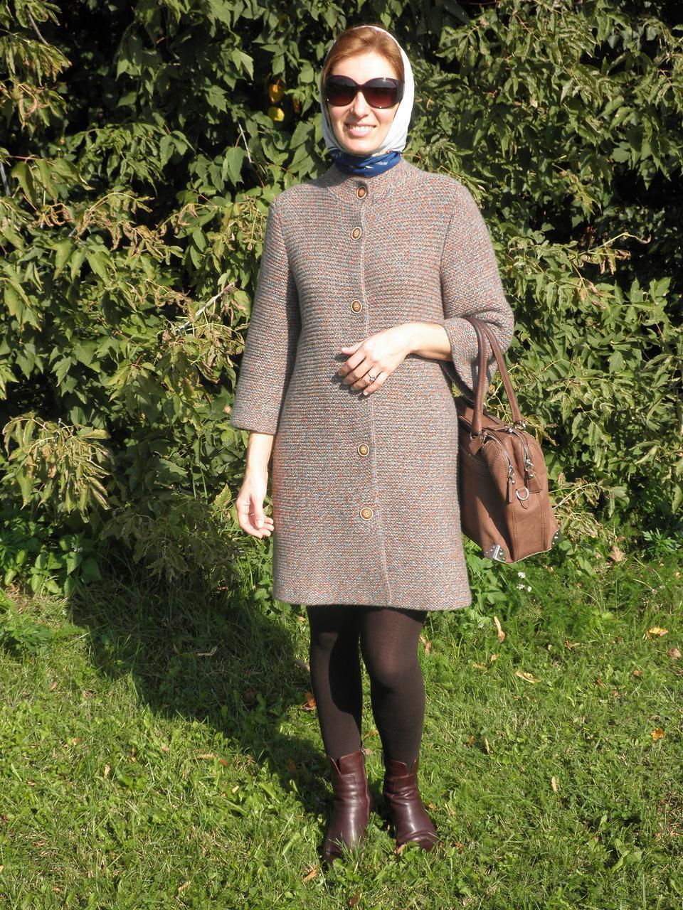 Я мастерица вязание спицами для женщин пальто