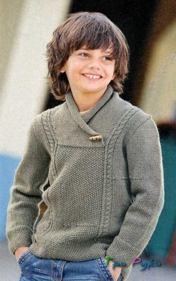 Вязание спицами для мальчика 12 лет