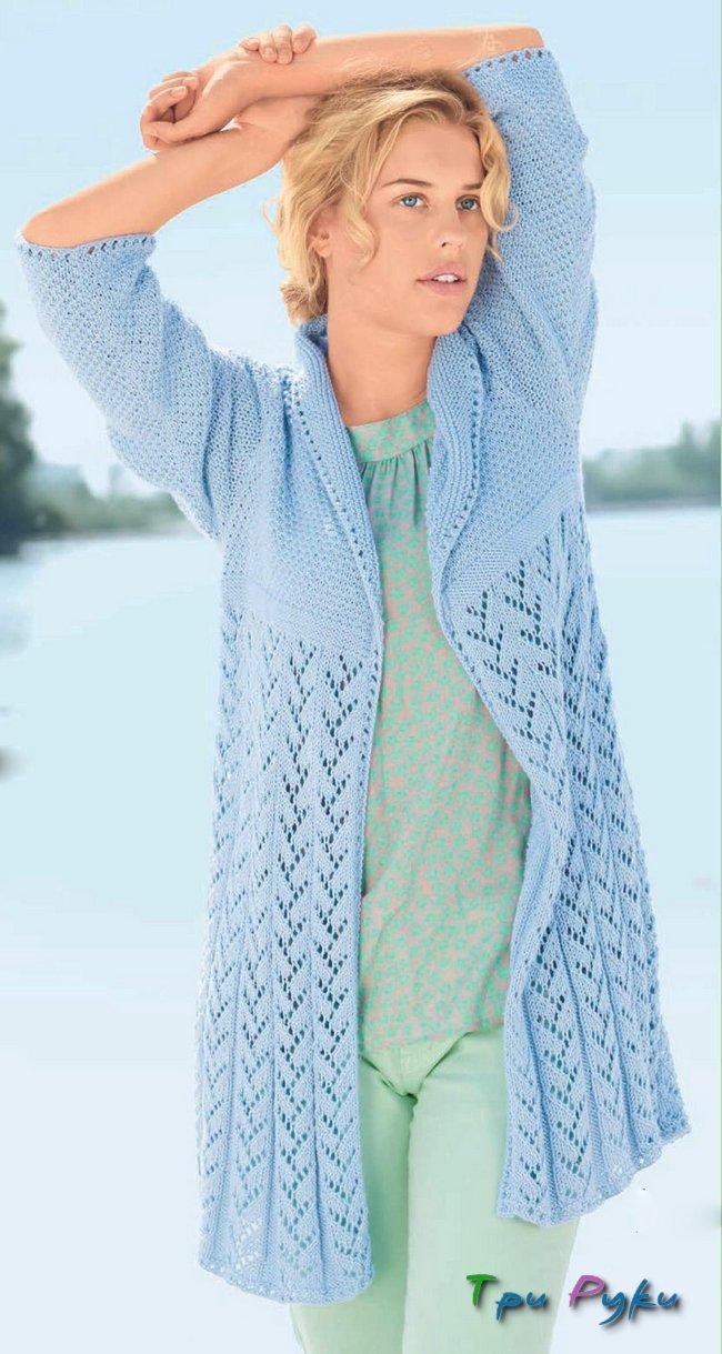 связать мужской пуловер-регланом-лайвинтернет-схема