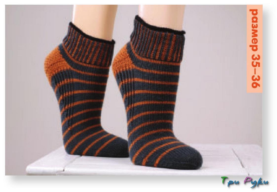 Носки с укрепленной пяткой