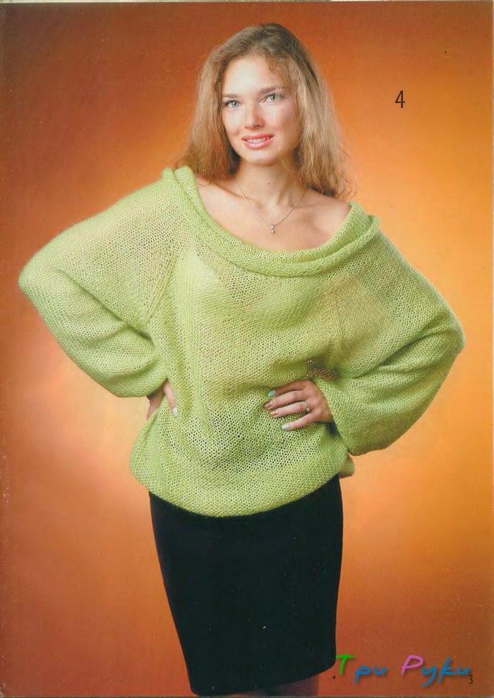 Модные вязанные свитера женские с доставкой