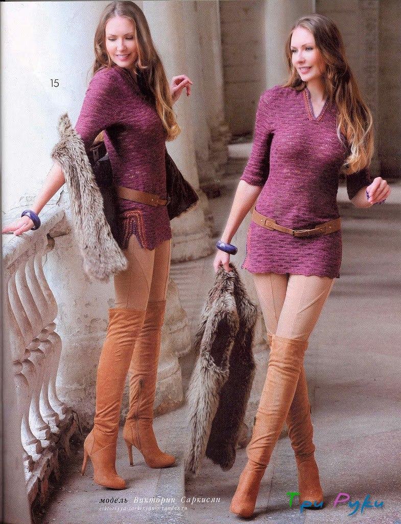 Модели секси вязание