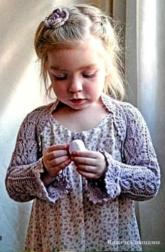 болеро спицами девочке 6 моделей три руки мир эксклюзивных вещей