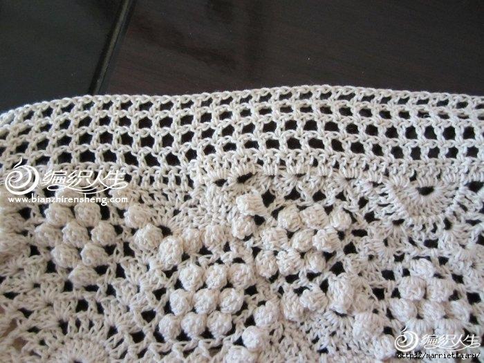 Летняя белая юбка крючком. Схемы (3) (700x525, 247Kb)