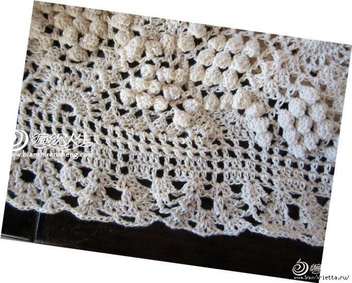 Летняя белая юбка крючком. Схемы (2) (700x563, 243Kb)