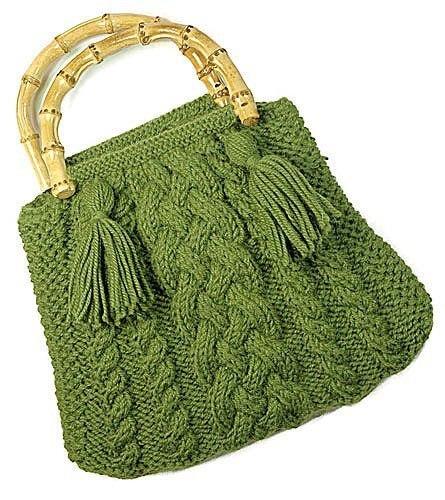 Berocco: сумочка с косами