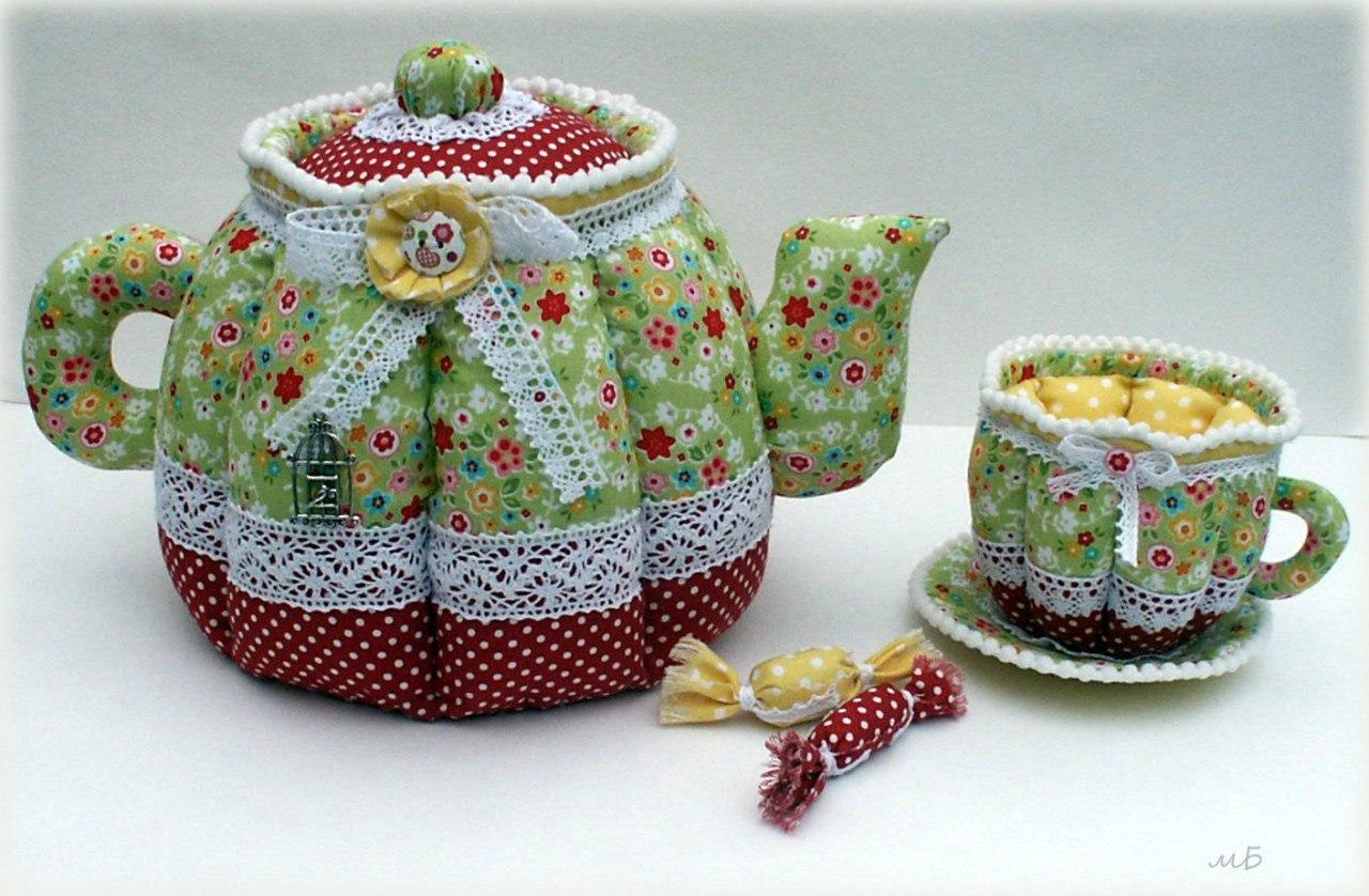 Теплушка для чайника своими руками