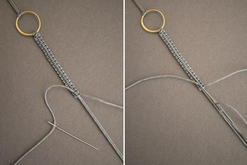 макраме браслет