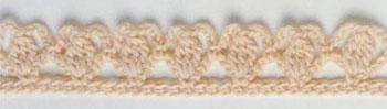 узор крючком образец