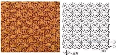 Вязаная сумочка - работа Евгении Руденко вязание и схемы вязания