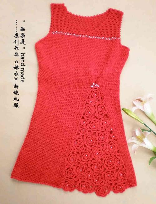 crochet-charming-red-dress-girls-craft-craft-16597267678749419867 (500x654, 214Kb)
